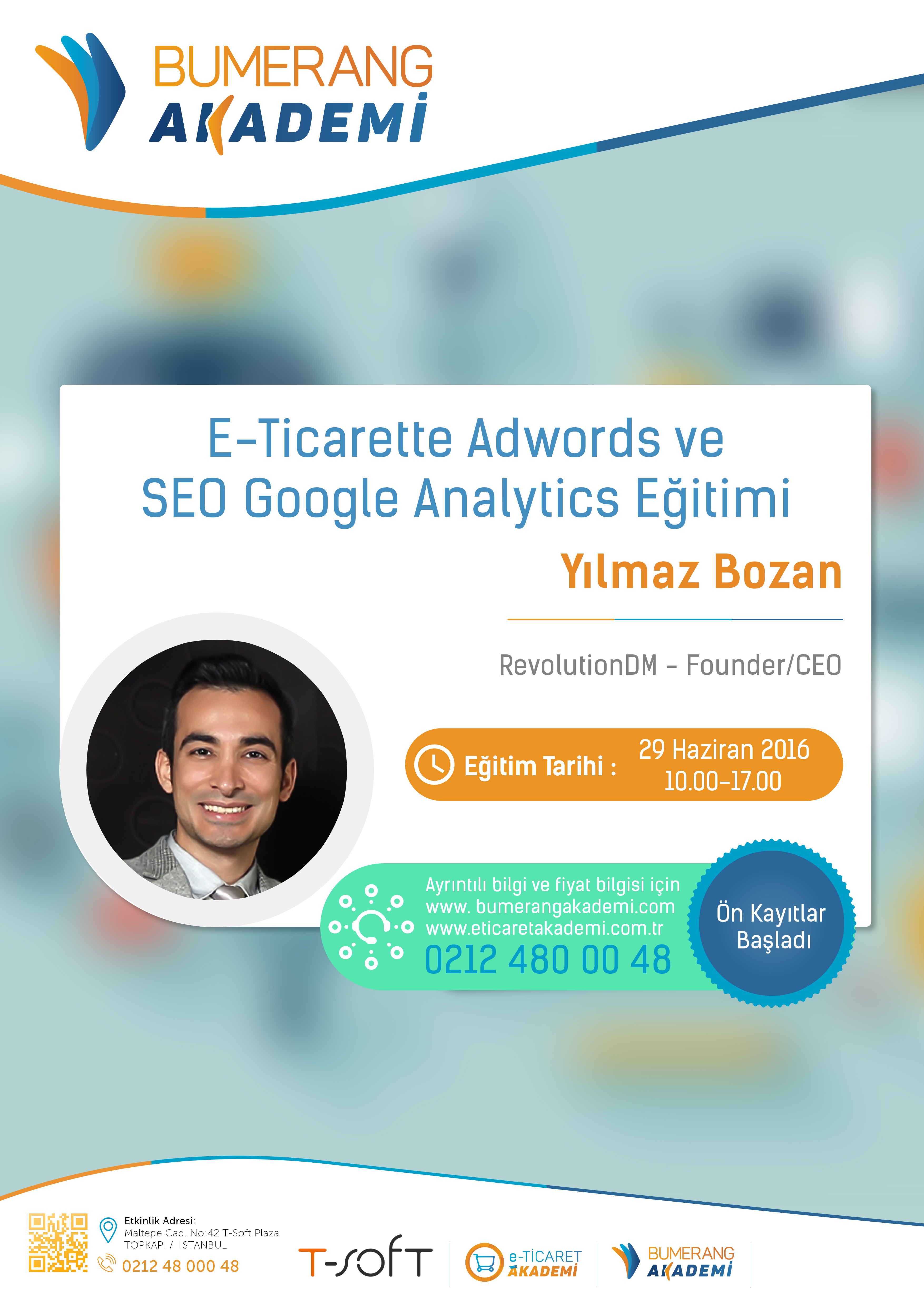 E-Ticarette Adwords ve SEO Google Analytics Eğitimi